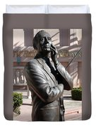 Jack Benny Duvet Cover by Jeff Lowe