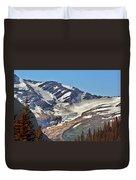 Jackson Glacier - Glacier National Park Mt Duvet Cover by Christine Till