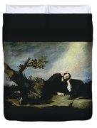 Jacobs Dream Duvet Cover by Jusepe de Ribera