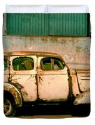 Jalopy Duvet Cover by Skip Hunt