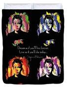 James Dean Duvet Cover by Mo T