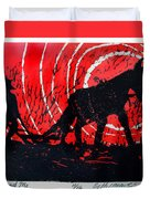 Jezebel And Me Duvet Cover by Seth Weaver