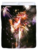 Joe's Fireworks Party 2 Duvet Cover by Charles Harden