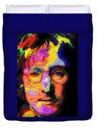 John Lennon Duvet Cover by Stephen Anderson