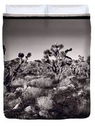 Joshua Tree Forest St George Utah Duvet Cover by Steve Gadomski