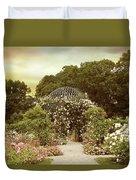 June Bloom Duvet Cover by Jessica Jenney