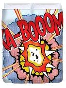 Ka-booom Duvet Cover by Gary Grayson