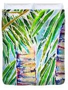 Kaimana Beach Duvet Cover by Julie Kerns Schaper - Printscapes