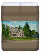 Kappa Delta Rho North View Duvet Cover by Charlotte Blanchard
