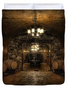 Karma Winery Cave Duvet Cover by Brad Granger