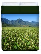 Kauai, Wet Taro Farm Duvet Cover by Himani - Printscapes
