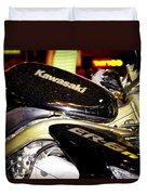 Kawasaki Duvet Cover by Stelios Kleanthous
