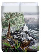 Keanae Duvet Cover by Fay Biegun - Printscapes