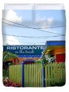 Key West Colors Duvet Cover by Susanne Van Hulst