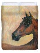 Kiger Mustang Duvet Cover by Ben Kiger