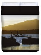 Killarney Golf Club, Lough Leane, Co Duvet Cover by The Irish Image Collection
