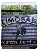 Kimosabe Duvet Cover by Mary Rogers