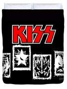 Kiss No.03 Duvet Cover by Caio Caldas