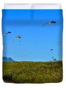 Kites Duvet Cover by Robert Bales