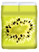 Kiwi Fruit Duvet Cover by Paul Ge