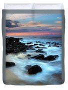 Koloa Dawn Duvet Cover by Mike  Dawson