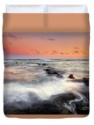 Koloa Dusk Duvet Cover by Mike  Dawson