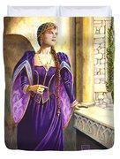 Lady Ettard Duvet Cover by Melissa A Benson