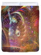 Lady Liberty Duvet Cover by John Robert Beck