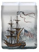 Lady Washington Duvet Cover by James Williamson
