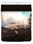 Launch The Alert 5 Duvet Cover by Marc Stewart
