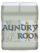 Laundry Room  Duvet Cover by Debbie DeWitt