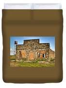Lauratown Arkansas A Ghost Of The Past Duvet Cover by Douglas Barnett