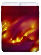 Lava Up Close Duvet Cover by Ron Dahlquist - Printscapes