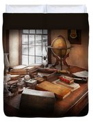 Lawyer - The Adventurer  Duvet Cover by Mike Savad