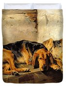 Lazy Moments Duvet Cover by John Sargent Noble