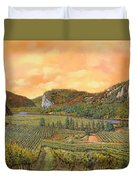 Le Vigne Nel 2010 Duvet Cover by Guido Borelli