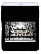 Lemon Hill Mansion - Philadelphia Duvet Cover by Bill Cannon