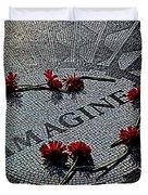 Lennon Memorial Duvet Cover by Chris Lord