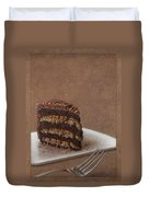 Let Us Eat Cake Duvet Cover by James W Johnson