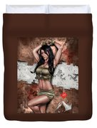 Lights Out 3 Duvet Cover by Pete Tapang