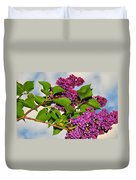 Lilacs Duvet Cover by Catherine Reusch  Daley