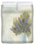 Lilacs Duvet Cover by Ken Powers
