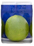 Lime Duvet Cover by Frank Tschakert