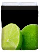 Limes Duvet Cover by Cheryl Young
