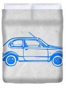 Little Car Duvet Cover by Naxart Studio