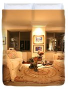 Living Room III Duvet Cover by Madeline Ellis