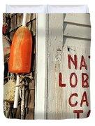 Lobster Shack. Duvet Cover by John Greim