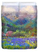 Local Color Duvet Cover by Talya Johnson