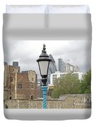 London Old And New Duvet Cover by Ann Horn