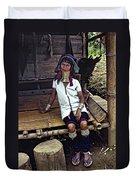 Longneck Beauty Duvet Cover by Steve Harrington